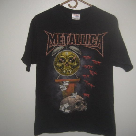 Metallica Death Is Pain T Shirt Double Sided Men's